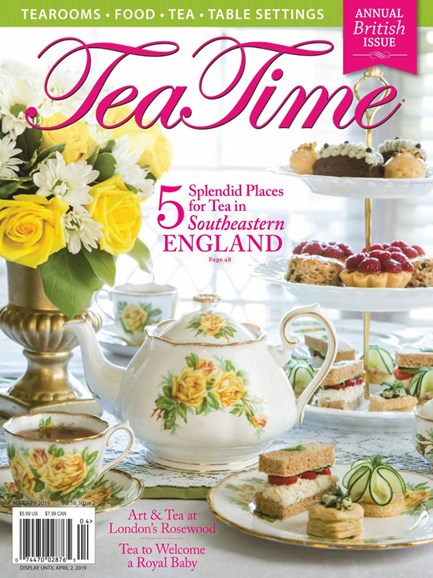 Tea Time Cover - 3/1/2019