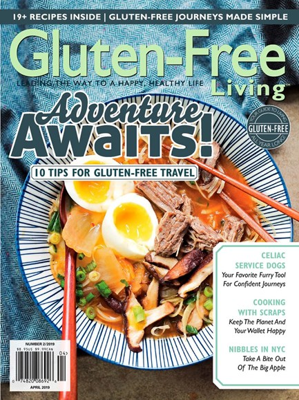 Gluten-Free Living Cover - 3/1/2019