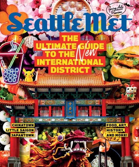 Seattle Met Cover - 3/1/2019