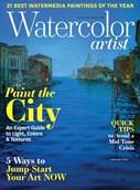 Watercolor Artist Magazine | 2/2019 Cover