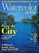 Watercolor Artist Magazine 2/1/2019