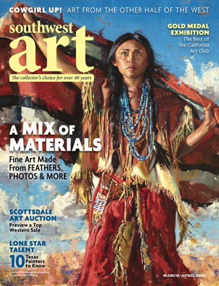 Southwest Art Cover - 3/1/2019