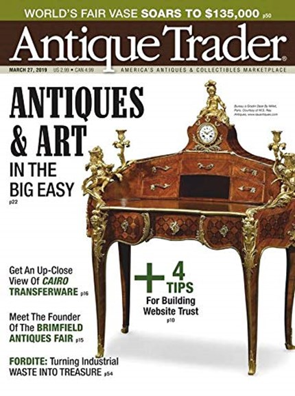 Antique Trader Cover - 3/27/2019