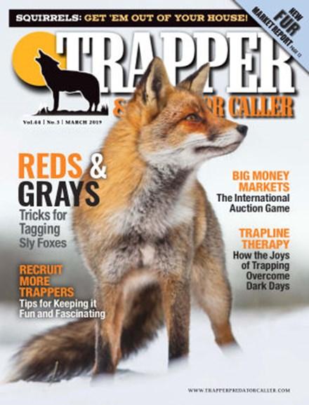 Trapper & Predator Caller Cover - 3/1/2019