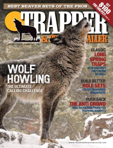 Trapper & Predator Caller Cover - 2/1/2019