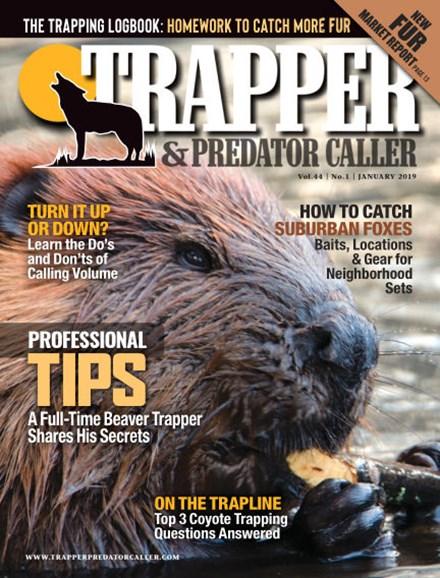 Trapper & Predator Caller Cover - 1/1/2019