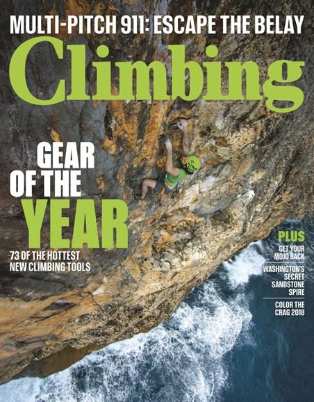 Climbing Magazine Cover - 4/1/2019