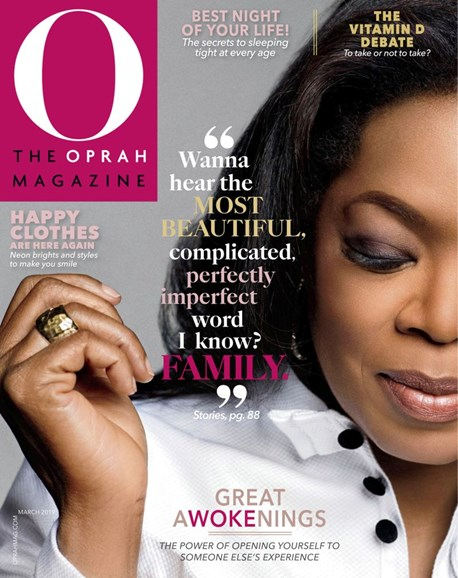 O The Oprah Cover - 3/1/2019