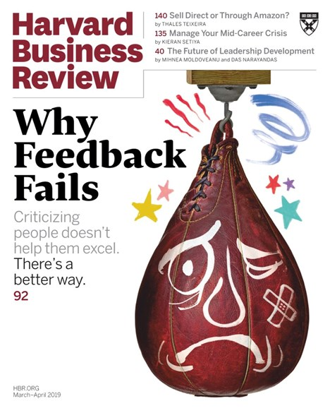 Harvard Business Review Cover - 3/1/2019