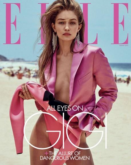 ELLE Cover - 3/1/2019