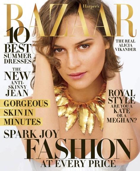 Harper's Bazaar Cover - 4/1/2019