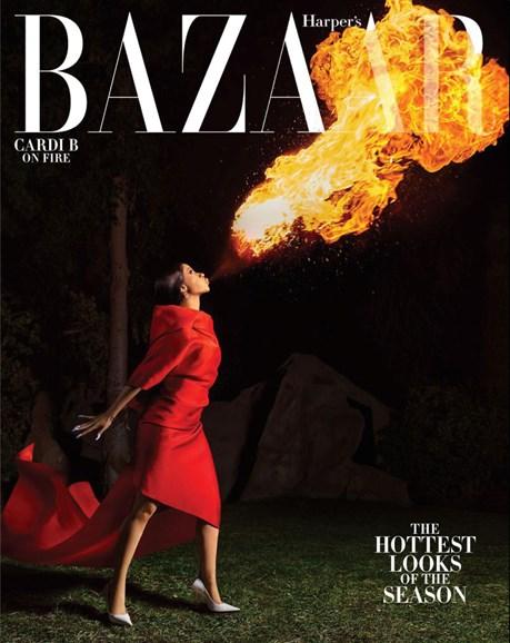 Harper's Bazaar Cover - 3/1/2019