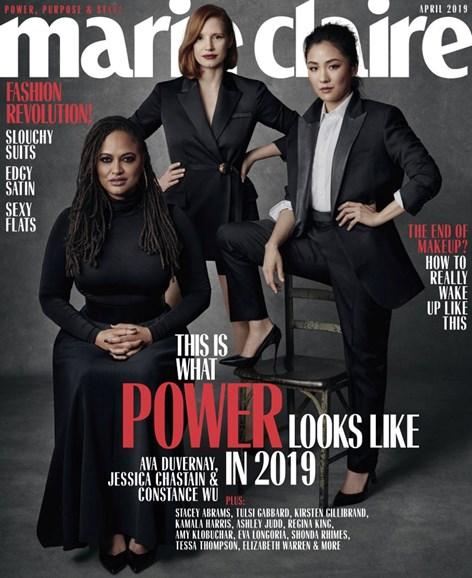 Marie Claire Cover - 4/1/2019