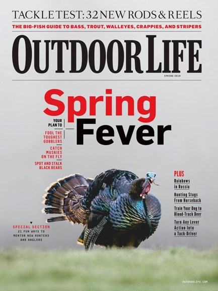 Outdoor Life Cover - 3/1/2019