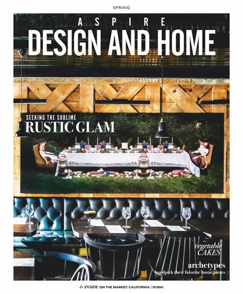 Aspire Design and Home Cover - 3/1/2019