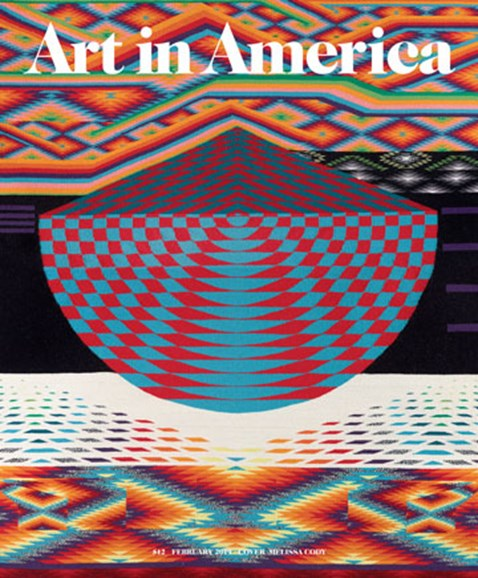 Art In America Cover - 2/1/2019