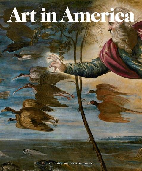 Art In America Cover - 3/1/2019