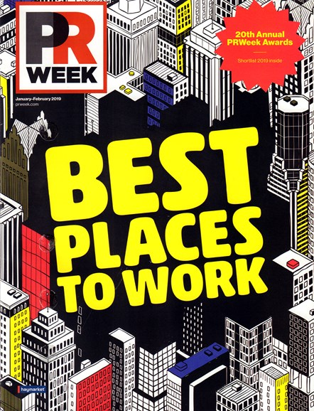 PRWeek Cover - 1/1/2019