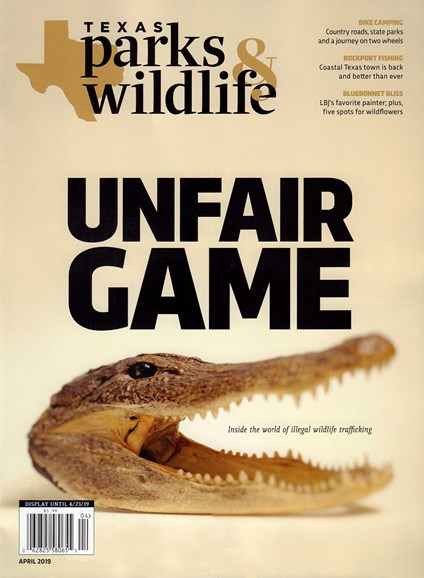 Texas Parks & Wildlife Cover - 4/1/2019