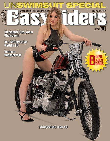 Easyriders Cover - 4/1/2019
