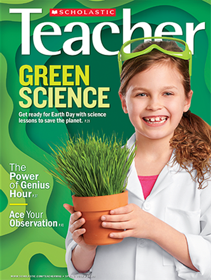 Scholastic Teacher Cover - 3/1/2019