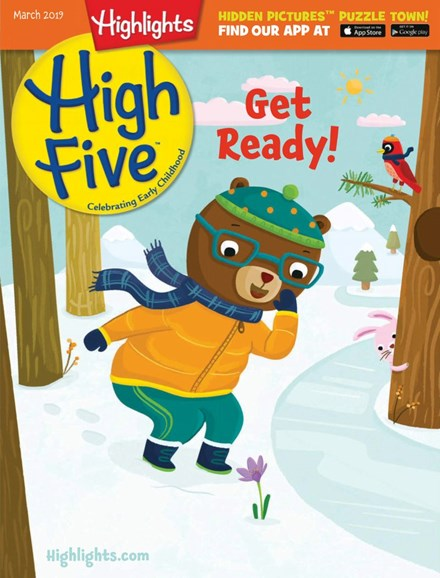 Highlights High Five Cover - 3/1/2019