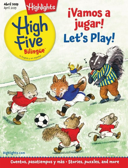 Highlights High Five Bilingue Cover - 4/1/2019