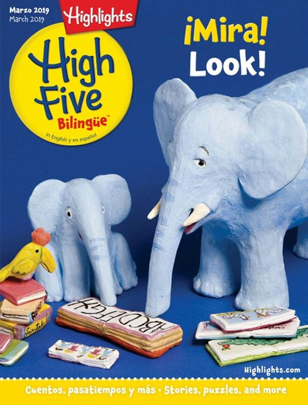 Highlights High Five Bilingue Cover - 3/1/2019