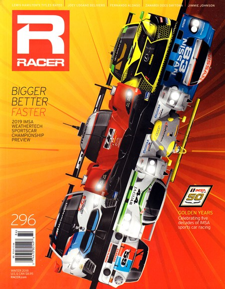 Racer Cover - 12/1/2018