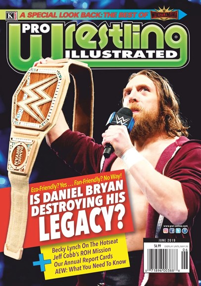 Pro Wrestling Illustrated Cover - 6/1/2019