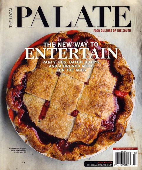 The Local Palate Cover - 4/1/2019