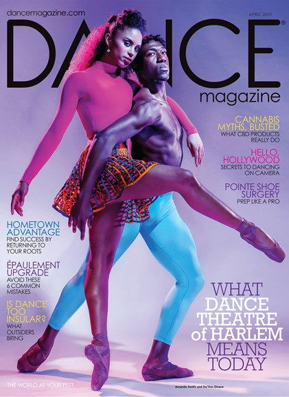 Dance Magazine Cover - 4/1/2019