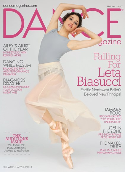 Dance Magazine Cover - 2/1/2019