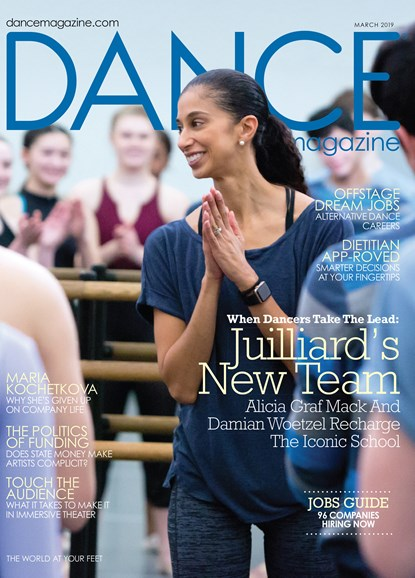 Dance Magazine Cover - 3/1/2019