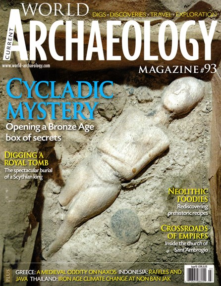 Current World Archaeology Cover - 2/1/2019
