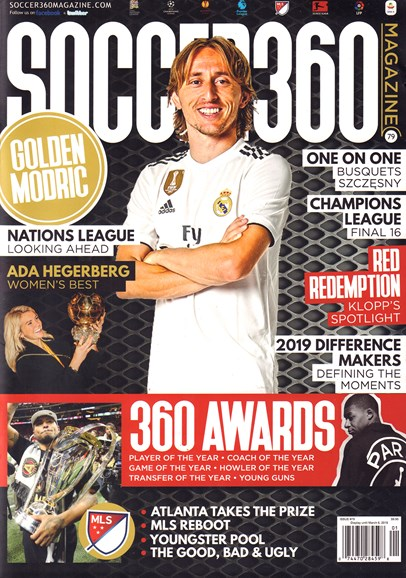 Soccer 360 Cover - 1/1/2019