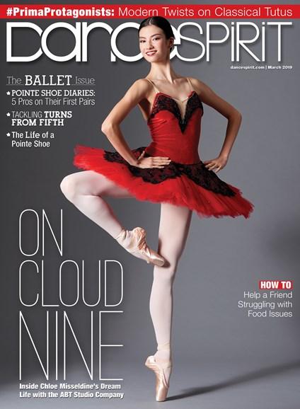 Dance Spirit Cover - 3/1/2019