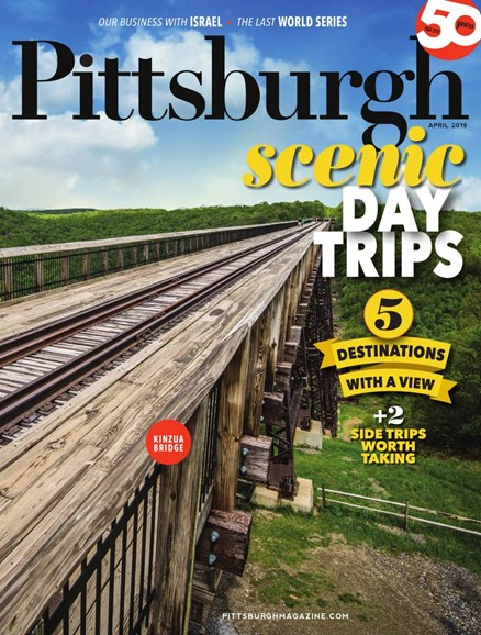 Pittsburgh Magazine Cover - 4/1/2019