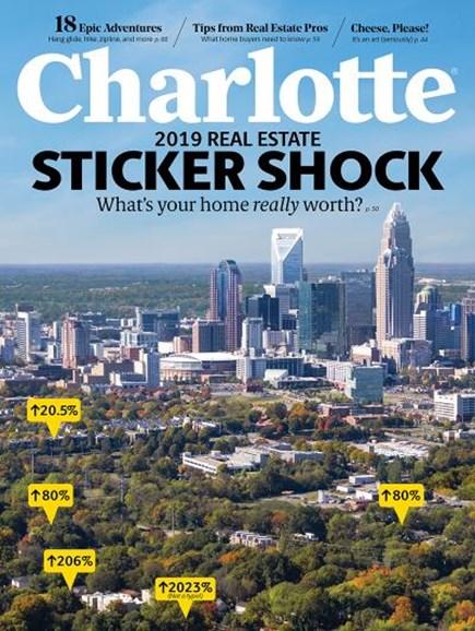 Charlotte Magazine Cover - 4/1/2019