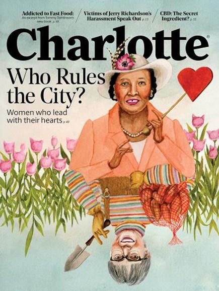 Charlotte Magazine Cover - 2/1/2019