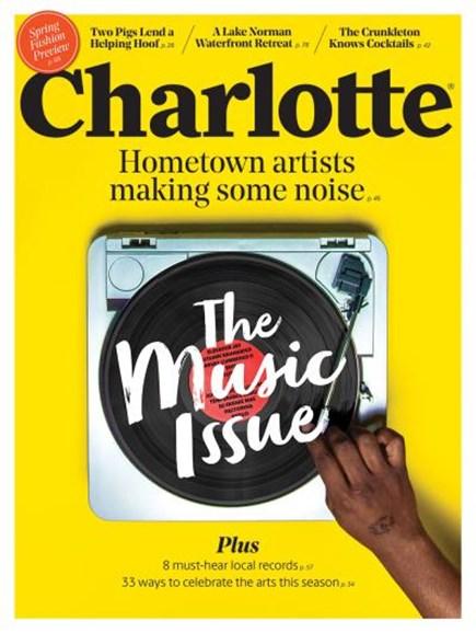 Charlotte Magazine Cover - 3/1/2019