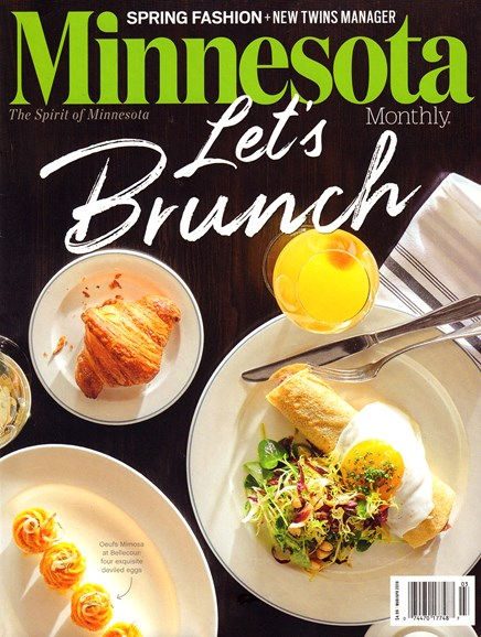 Minnesota Monthly Cover - 3/1/2019