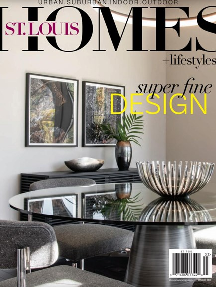St. Louis Homes & Lifestyles Cover - 3/1/2019