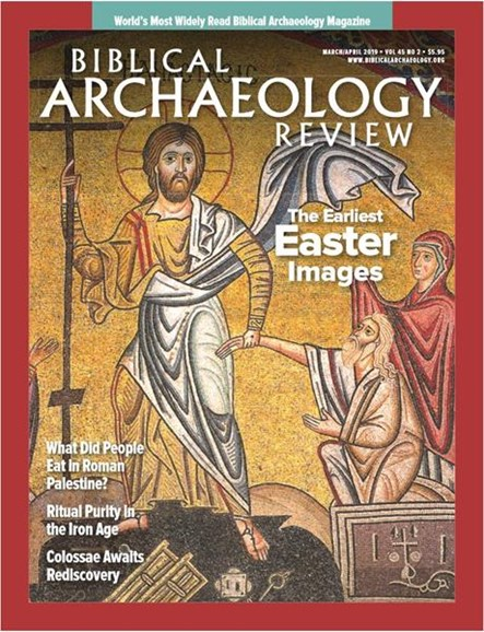 Biblical Archaeology Review Cover - 3/1/2019