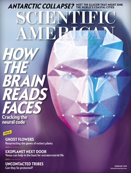 Scientific American Cover - 2/1/2019