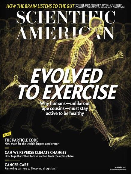 Scientific American Cover - 1/1/2019