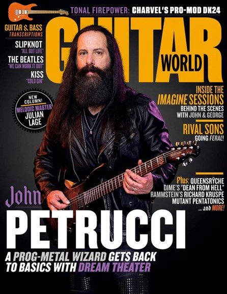Guitar World Cover - 4/1/2019