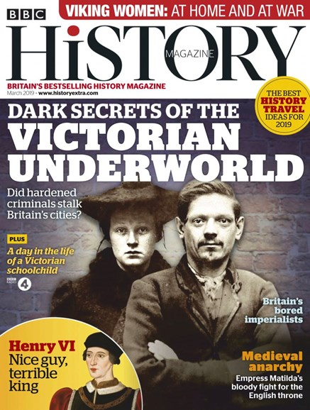 BBC History Cover - 3/1/2019