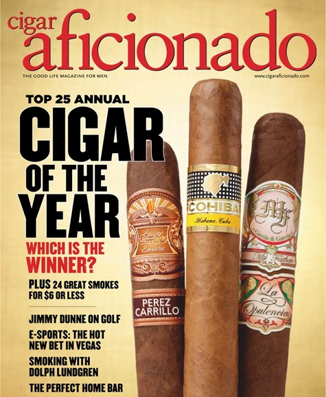 Cigar Aficionado Cover - 1/1/2019