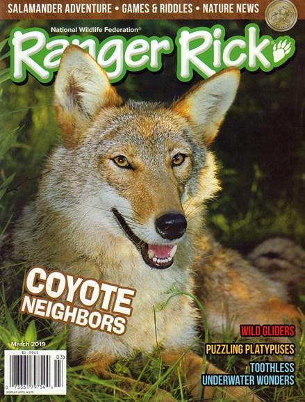 Ranger Rick Cover - 3/1/2019